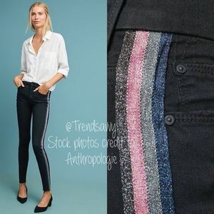 RARE ANTHRO MOTHER The Looker High R Skinny Jeans
